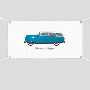 1951 Nash Wagon Banner