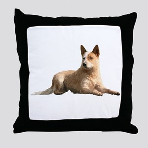 Cattle Dog Throw Pillow