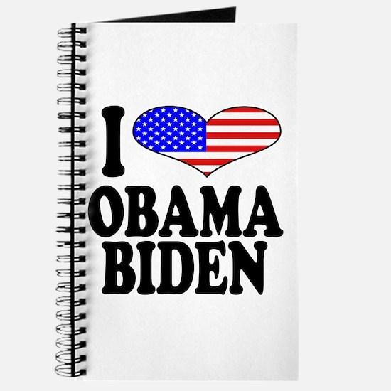 I Love Obama/Biden Journal