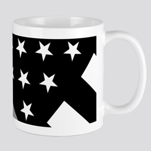 U.S. Flag: The Thin Grey Line Mug