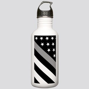 U.S. Flag: The Thin Gr Stainless Water Bottle 1.0L