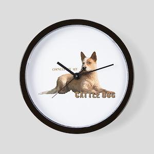 Cattle Dog Wall Clock