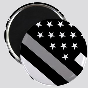 U.S. Flag: The Thin Grey Line Magnet
