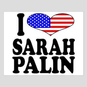 I Love Sarah Palin Small Poster