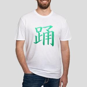 Dance Kanji Fitted T-Shirt