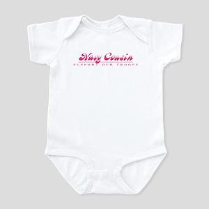 Navy Cousin - Girly Style Infant Bodysuit