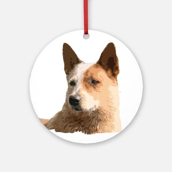 Cattle Dog Ornament (Round)