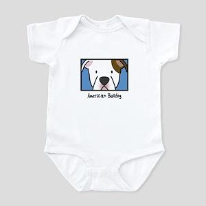 Anime American Bulldog Infant Bodysuit
