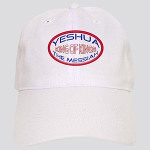 Yeshua The Messiah, King Of Kings White Cap