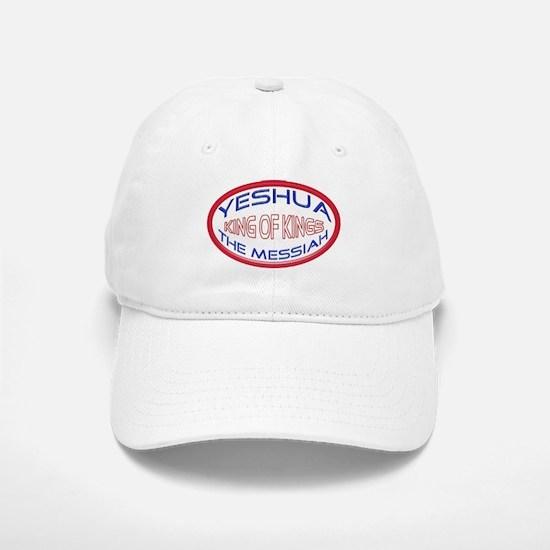 Yeshua The Messiah, King Of Kings White Baseball Baseball Cap