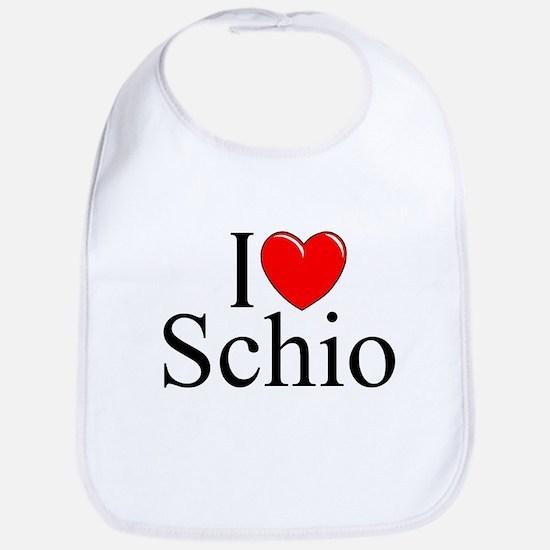 """I Love (Heart) Schio"" Bib"