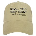 Real Men Keep Torah Khaki Cap