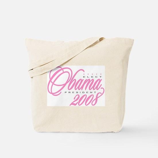 Cute Obama girl Tote Bag