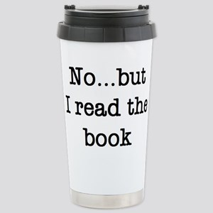 read the book 16 oz Stainless Steel Travel Mug