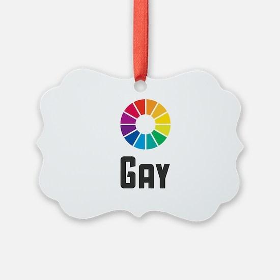 Gay Ornament