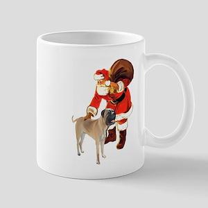 Bullmastiff Christmas Mug