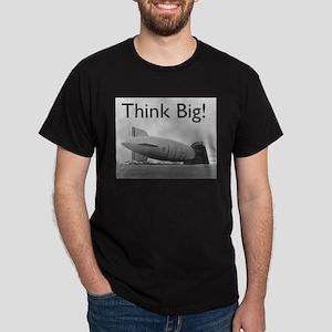 Think Big Airship Dark T-Shirt
