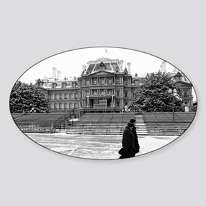 Old Executive Office Building Oval Sticker