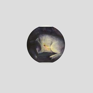 "Moonlight Fantasies ""Dreamers"" Mini Button"