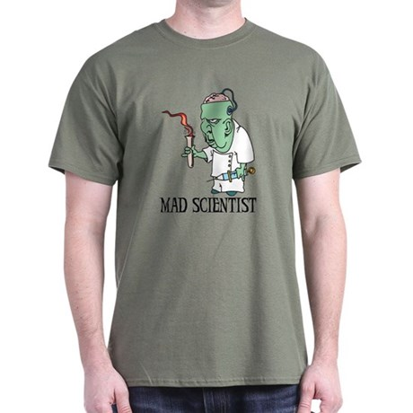 Mad Scientist Dark T-Shirt