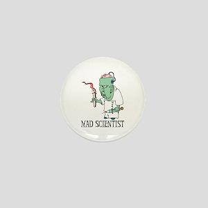 Mad Scientist Mini Button