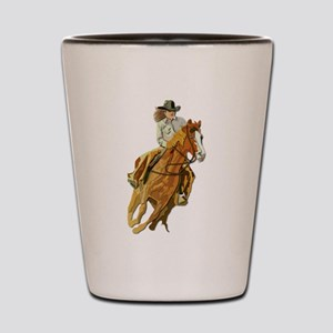 Rodeo - Cow Girl Shot Glass