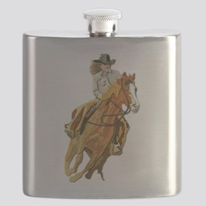 Rodeo - Cow Girl Flask