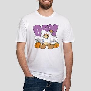 Halloween Teddy Bear Fitted T-Shirt