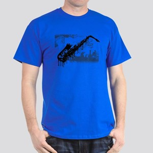 Sax Graffiti Dark T-Shirt