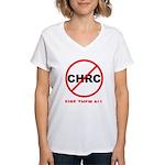 Fire Them All Women's V-Neck T-Shirt