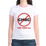 Fire Them All Jr. Ringer T-Shirt