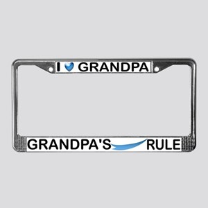 Would Grandpa Do License Plate Frame