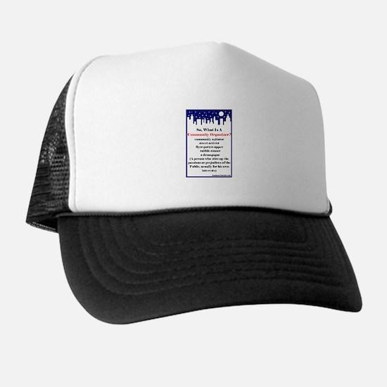 """Community Organizer?"" Trucker Hat"