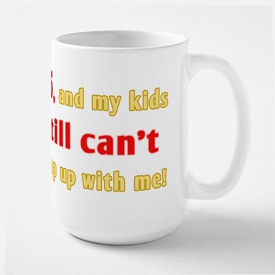 Witty 85th Birthday Large Mug