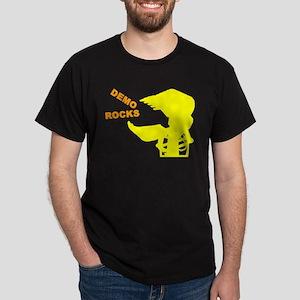 Demolition Construction Worker Dark T-Shirt