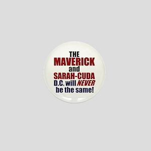 Maverick & Sarah-Cuda Mini Button