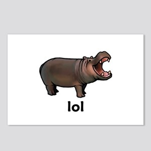 Lol hippo Postcards (Package of 8)