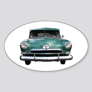 Helaine's Green Henry J Oval Sticker
