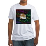 World Cat Fitted T-Shirt