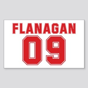 FLANAGAN 09 Rectangle Sticker