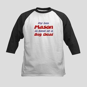 My Son Mason - Big Deal Kids Baseball Jersey