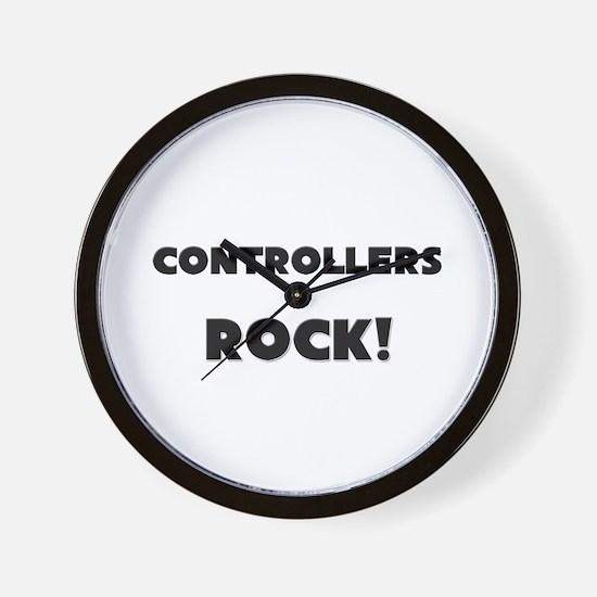 Controllers ROCK Wall Clock