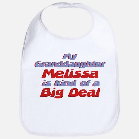 Granddaughter Melissa - Big D Bib