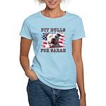 Pit Bulls for Sarah Women's Light T-Shirt