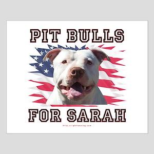 Pit Bulls for Sarah Small Poster
