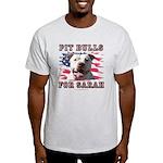 Pit Bulls for Sarah Light T-Shirt
