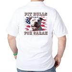 Pit Bulls for Sarah Golf Shirt