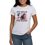 Pit Bulls for Sarah Women's T-Shirt