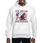 Pit Bulls for Sarah Hooded Sweatshirt