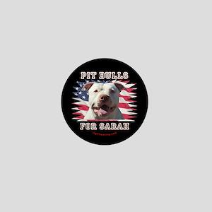 Pit Bulls for Sarah Mini Button